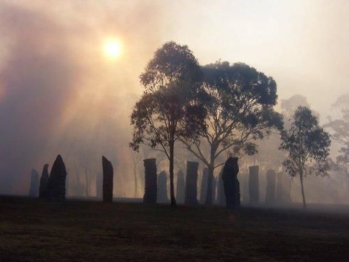 Craigh na Dun Stone Circle in Scotland is said to be fictional .. If so what do you call these stones?    I
