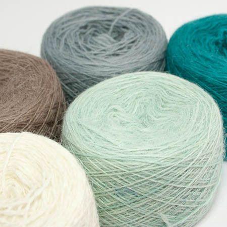 Orkney Angora Aurora - 4ply Knitting Yarn - Tangled Yarn UK