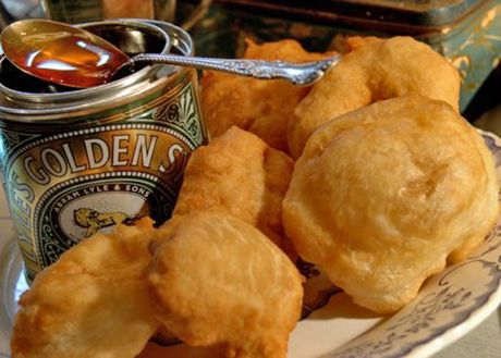 South African Vetkoek & Golden Syrup