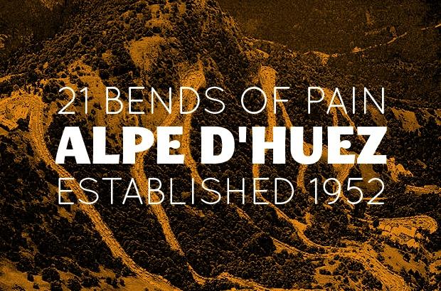 A pretty good description for Alpe d'Huez