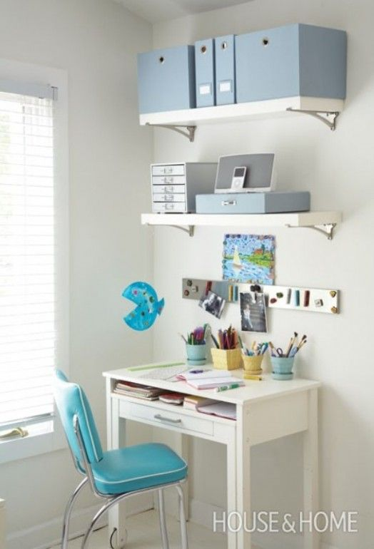 31 Awesome Kids Desk Spaces To Get Inspired | Kidsomania