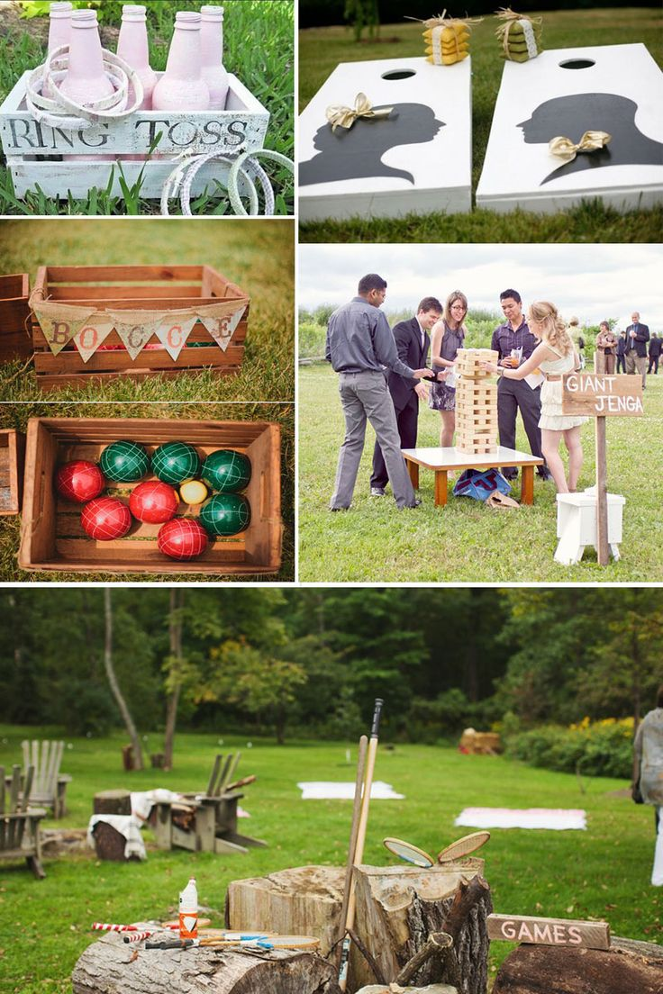 37 best images about lawn games on pinterest wedding for Fun things for wedding receptions