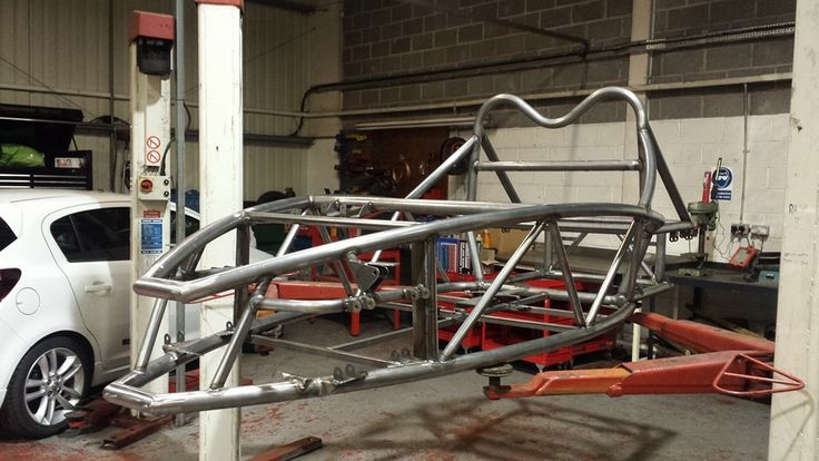 Our new Exo Rocket chassis, specially adapted by Exo Sport Cars to fit the 1.6 EcoBoost engine.