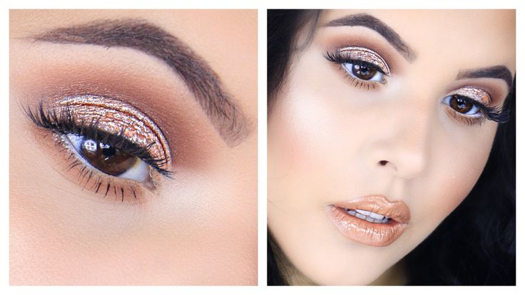 Date Night/Night Out Makeup | ft. Morphe 35O palette, MUG Petalpusher shadow, Stila Rose Quartz shadow, and MAC Peach Stock lipstick