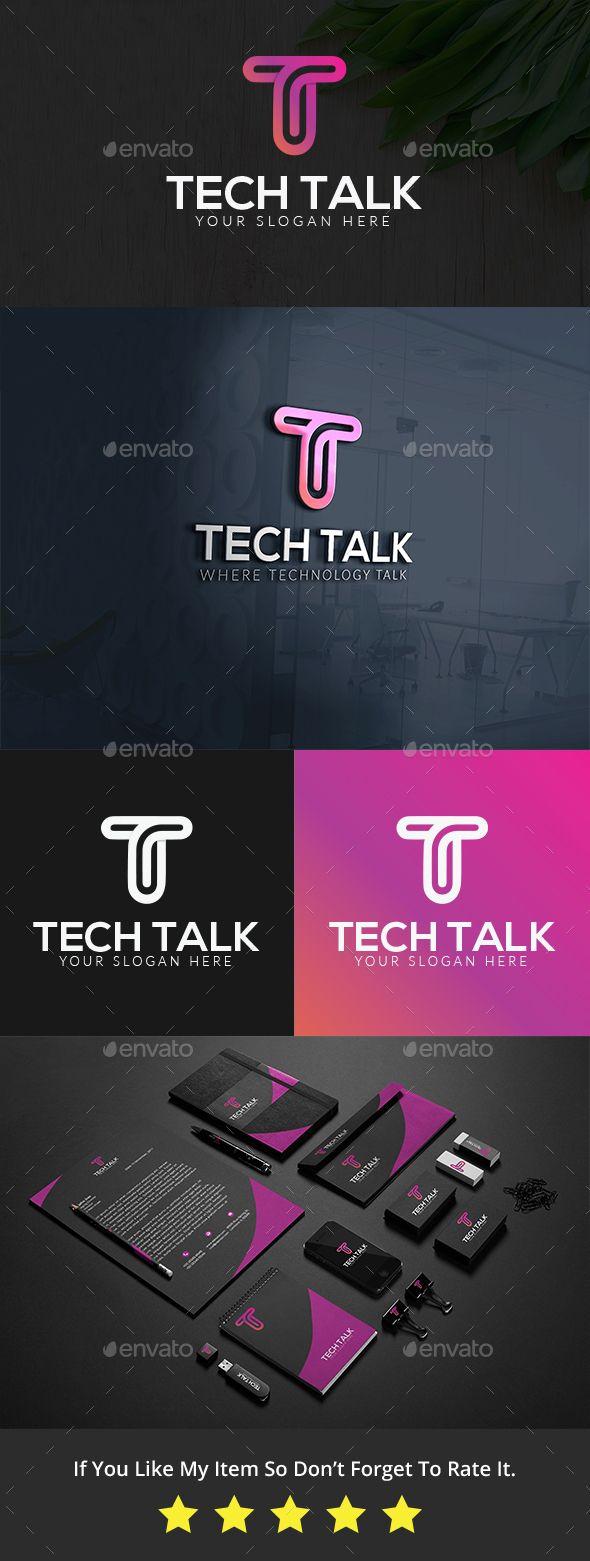 T Letter #Logo Template - Letters Logo Templates
