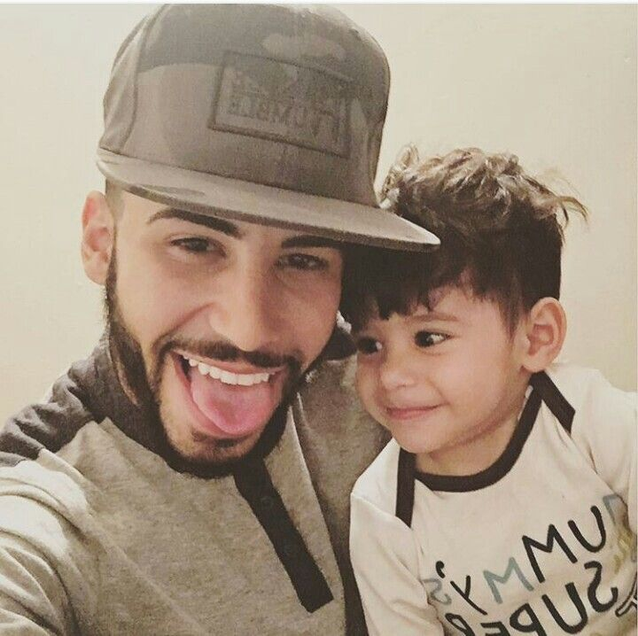 Uncle adam with baby mohsin