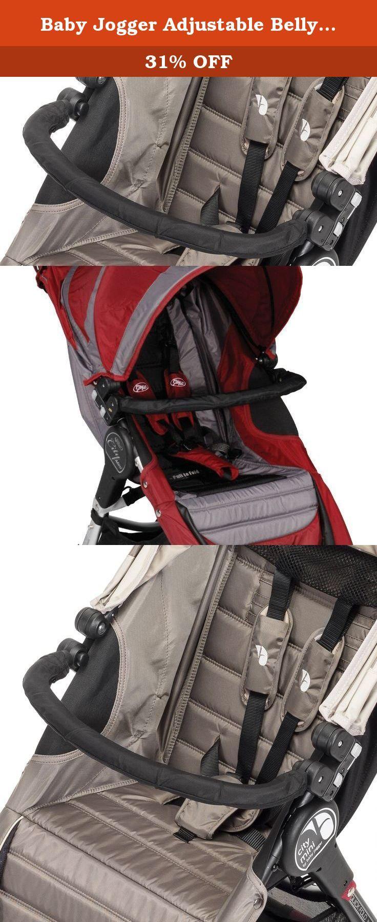 Baby Jogger Adjustable Belly Bar. The adjustable Belly Bar