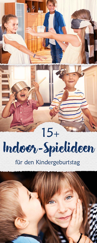 Inddor-Speiel für den Kindergeburtstag: 15+ Ideen