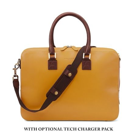 Small Mount Street Bag in Smooth Mustard