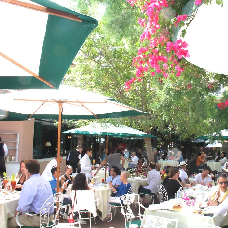 Caban Cafe, Beverly Hills Hotel