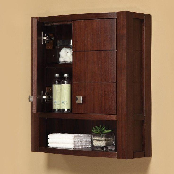 17 mejores ideas sobre gabinetes de la pared de ba o en for Herrajes para muebles de bano