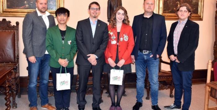 Dva studenti z Kanady a Tchaj-wanu přijeli do Plzně na výměnný program