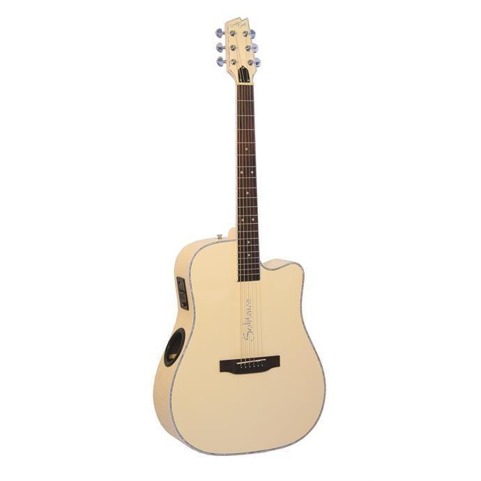 #BoulderCreek #ECR4 BC Acoustic Electric Cedar Top Rosewood Back Sides Guitar  http://www.jamcitycentral.com for full line of Boulder Creek guitars, bass guitars, and ukuleles #BoulderCreekGuitars