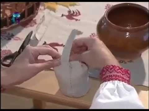 """Мастер - класс """"Кукла Каша"""", передача """"Мамина школа"""" - YouTube"""