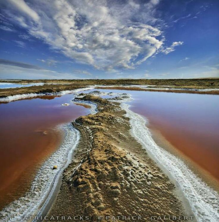 Salt Walvis Bay Namibia.