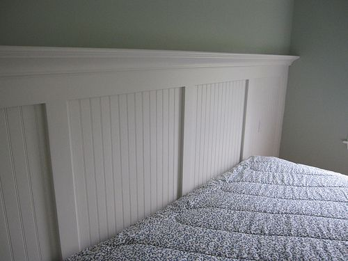 Wainscoting Headboard In A Day And Age When Many People Cut Corners And Promise Work That The Master Bedroom Pinterest Search And