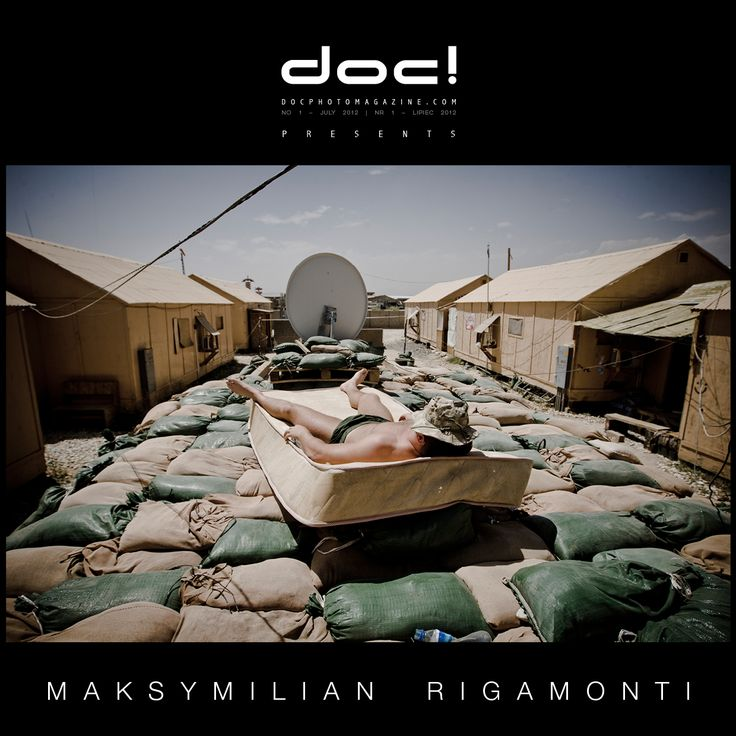 "doc! photo magazine presents: ""Afghanistan Now!"" by Maksymilian Rigamonti, #1, pp. 9-27"