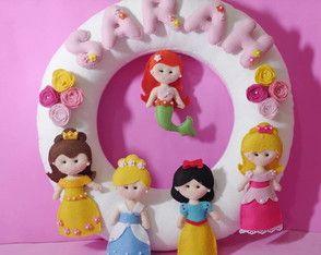 Porta Maternidade Princesas da Disney