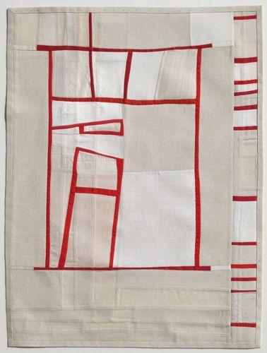 Debra M Smith - Yielding Resistance Two 2009, vintage textiles