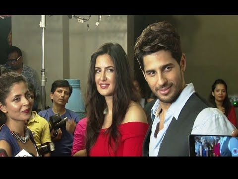 Katrina Kaif & Sidharth Malhotra at trailer screening of BAAR BAAR DEKHO movie.