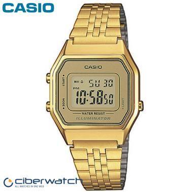 Reloj Casio Retro Dorado LA680WEGA-9ER