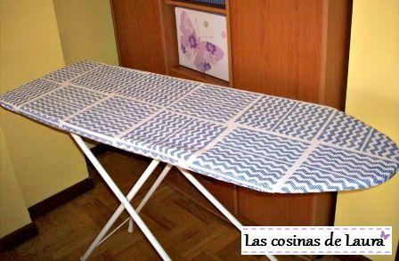 DIY: Funda para la tabla de planchar | Las cosinas de Laura