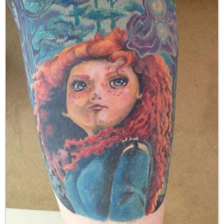 #tattoo #disney #disneytattoo #brave #merida #inked #inkart #tattooart #tattoolife #tattoolove #tattoopassion #lamoglietatuata