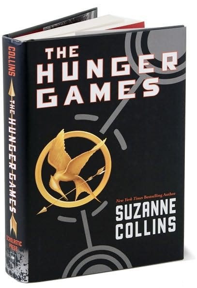 The Hunger Games is an intense game of cat and mouse where teenagers from various districts are force to fight to the death.  There will be one ultimate winner and it better be you.  The Hunger Games is in the process of being filmed into a movie.  #books,  #movies
