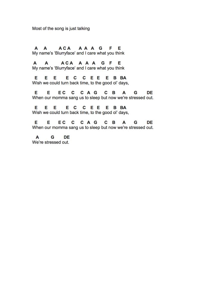 piano letters for songs flute sheet stressed out 23988 | 340eefc0d4c6126a0ac0397b7b2d9a76