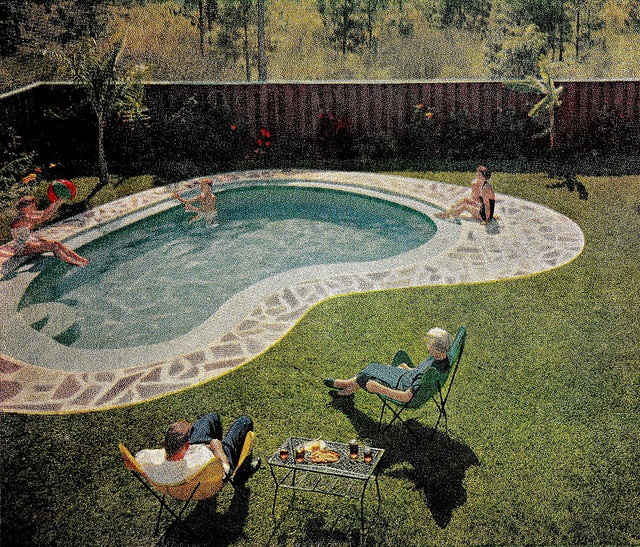 1000 images about mcm patio and backyard on pinterest for Pool design jacksonville fl