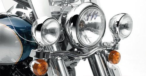 Kawasaki Vulcan 900 Classic & Classic LT 06-16 Chrome Light Bar