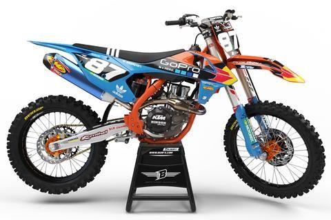 Ktm graphics kit ''tld factory'' design | Motocross | Ktm