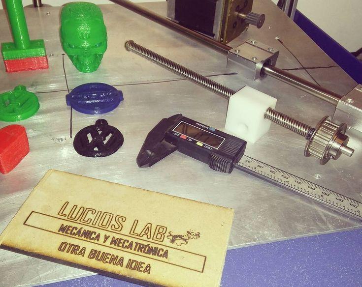 #LuciosLAB #Mecatrónica #Mecánica #3Dprinting #Láser #CNC #Mechatronics #Engineering #Mechanics #AnotherGoodIdea