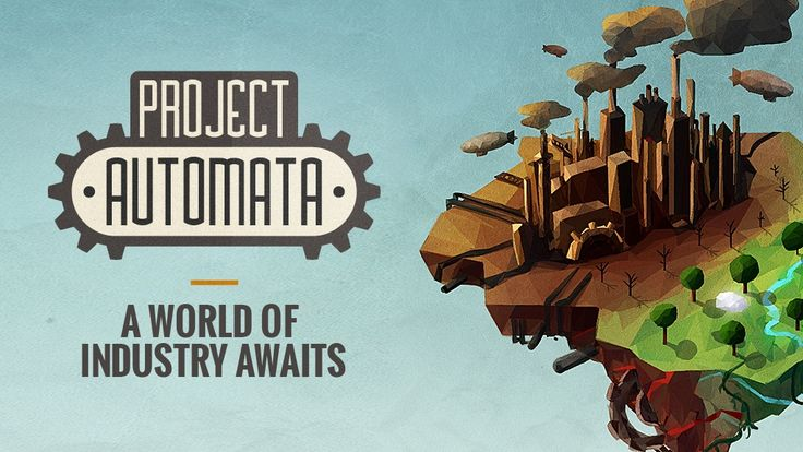 Oldschool feel with a modern twist: @ProjectAutomata! #CrowdFunding #KickStarter #IndieDev