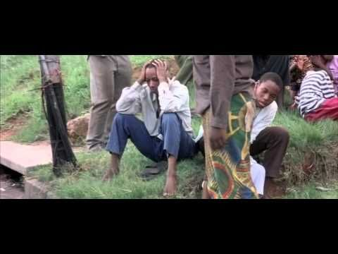 Hotel Rwanda. I cried so much during this movie.. it's unbearable to think that this actually happened