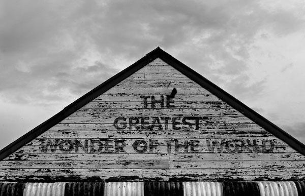 The Greatest Wonder of the World - Gulgong, NSW Shop Front - Simone De Peak