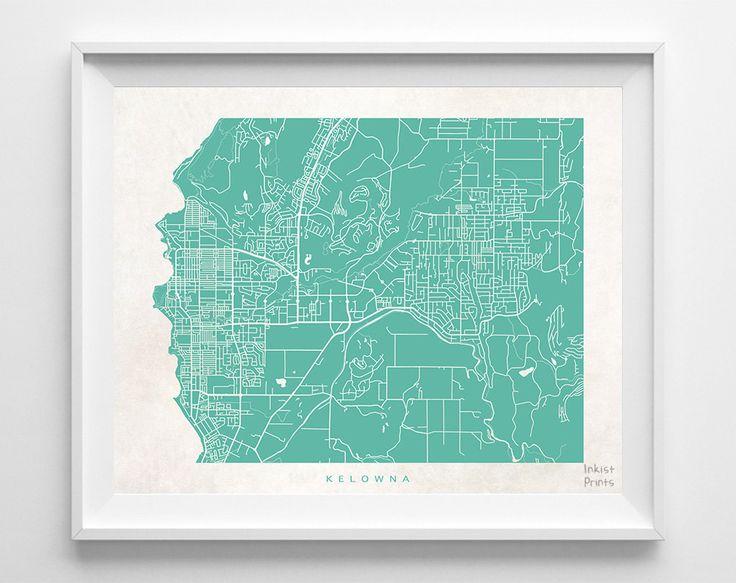 Kamloops Map of Streets