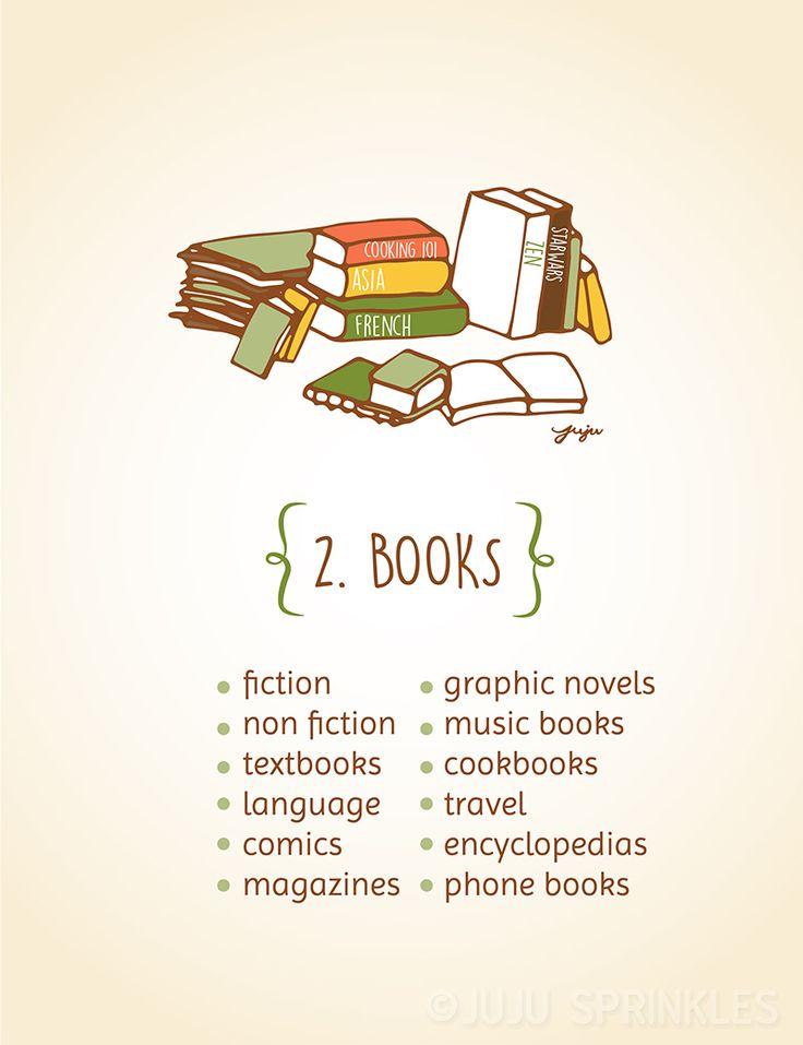 Kon mari illustration for Books the life changing magic of tidying up