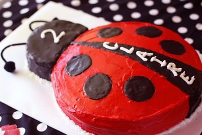 ladybug party ideas @Katie Schmeltzer Kostichek we could so do this one