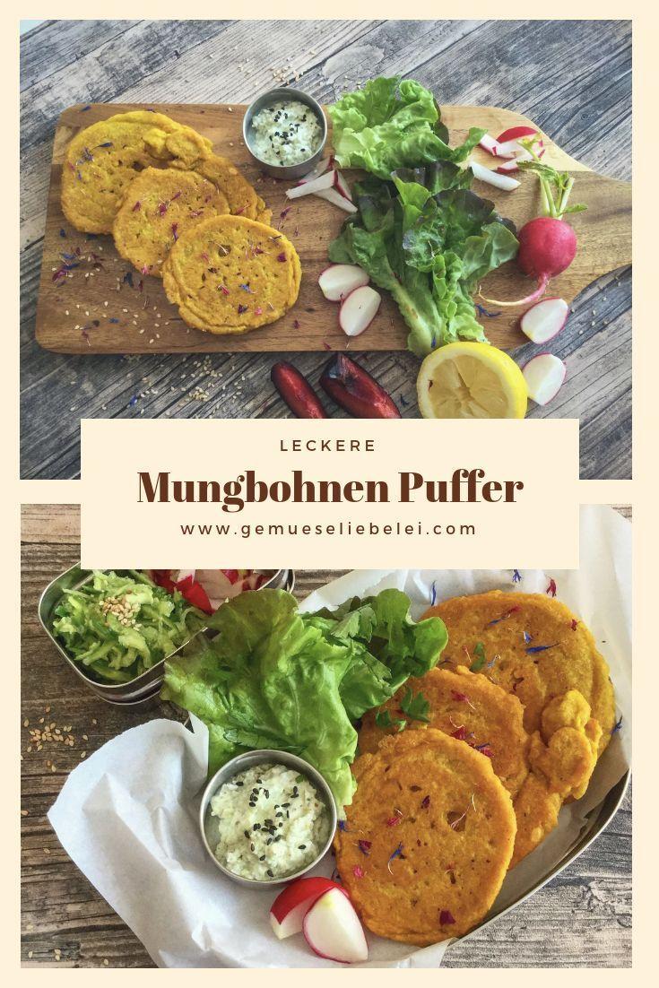 Ayurvedische Mungbohnen Puffer Rezept Mungbohnen Rezepte Ayurvedische Rezepte