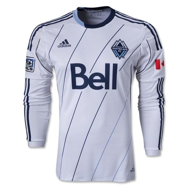 Vancouver Whitecaps 2013 Authentic LS Primary Soccer Jersey - MLSGear.com