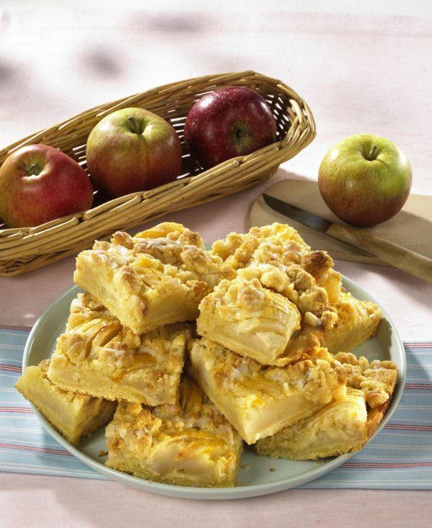 Unser beliebtes Rezept für Apfelkuchen mit Butterstreuseln und mehr als 55.000 weitere kostenlose Rezepte auf LECKER.de.