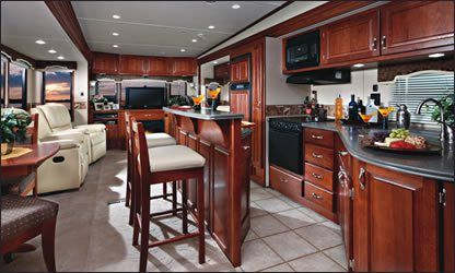 Inside a 5th Wheel Camper | Fifth Wheels | RV-Travel Trailer and Fifth Wheel News