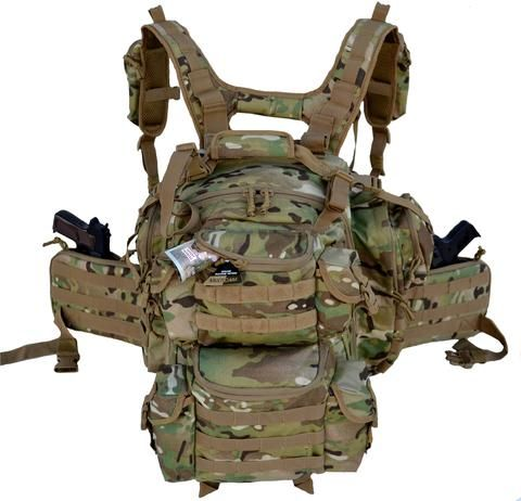 Ultimate Deluxe Tactical Assault 3-Day 72 Hours Survival Pack Backpack MULTICAM COLOR