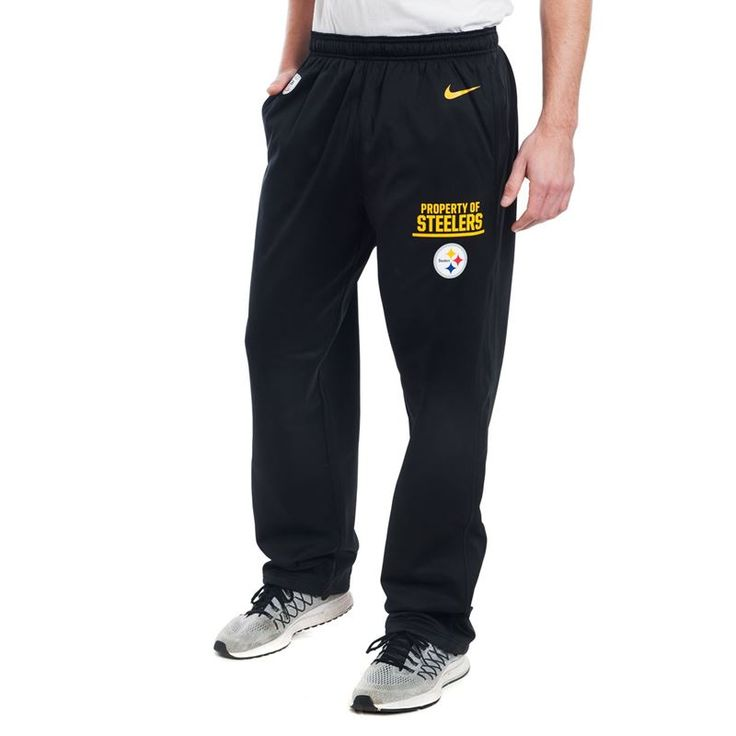 Shop the Official Steelers Pro Shop for Pittsburgh Steelers Nike Property Of Circuit Pants