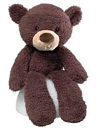Gund Fuzzy Plush Chocolate Bear $16.99
