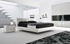 Black and white master bedroom decorating ideas