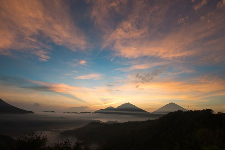 Early morning shoot Mt Agung Bali with the Full Day Photo Tour group