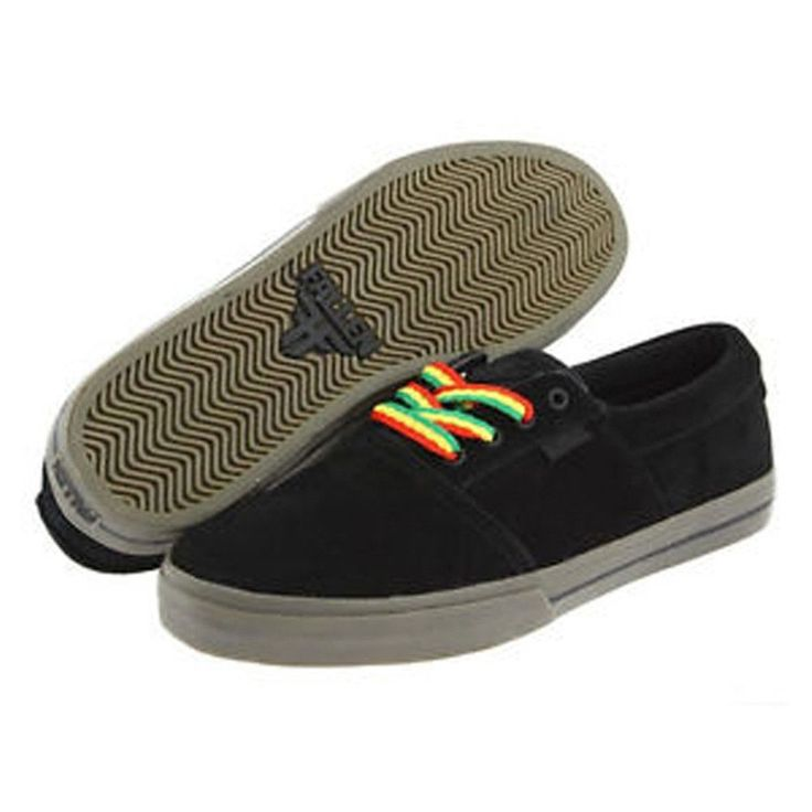 Fallen - Coronado Black Gum Shoes