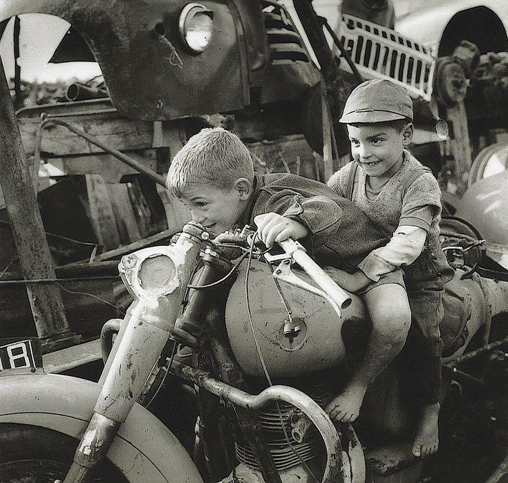 "Eduardo Gageiro ""The Fascination of Two Wheels"", Portugal, Undated"